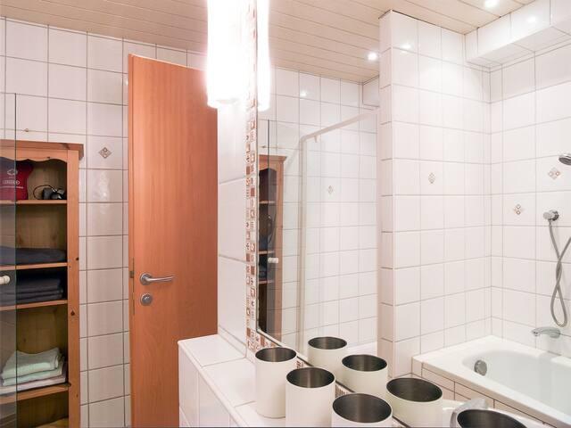 Bath Room w/ Shower and Tub