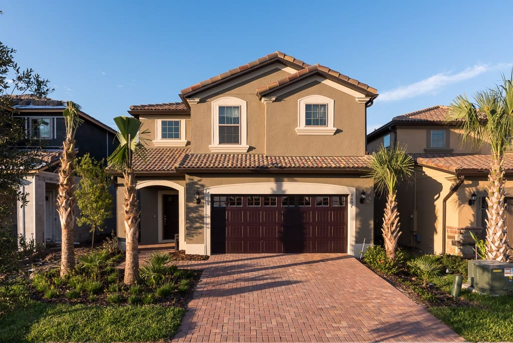 Pull your car into the garage and step into your elegant vacation headquarters with private swimming pool, incredible community amenities and every convenience you could want in a home.