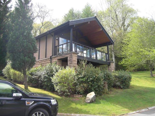 Luxury lodge on bank of Loch Lomond - Alexandria - Chalé