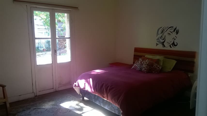Luminosa Bedroom Con Patio in Beautiful Barrio - Buenos Aires - Bed & Breakfast