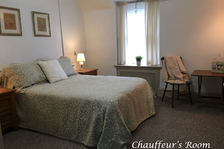 The Chauffeur's Room