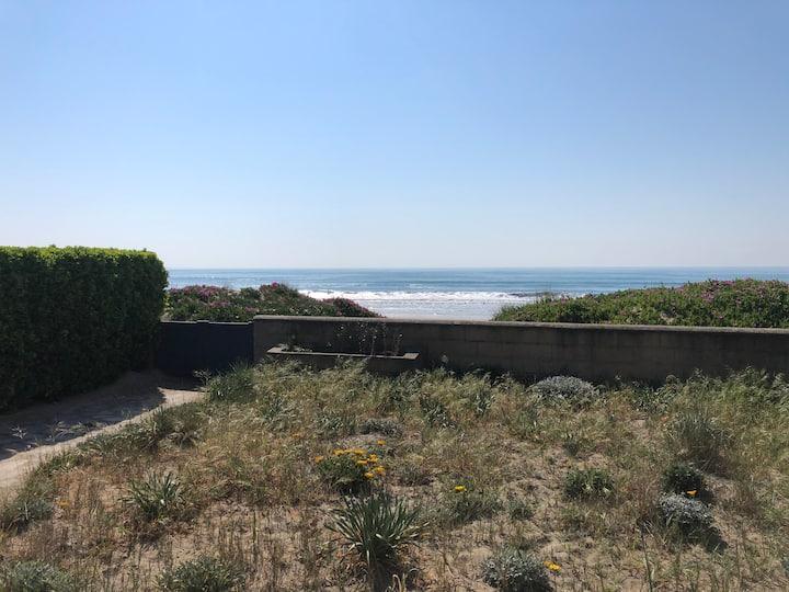 T3 face à la mer (accès direct à la mer)