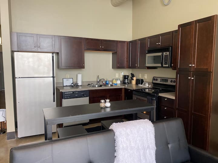 Cozy  1br Apt in The Heart of Downtown Cleveland
