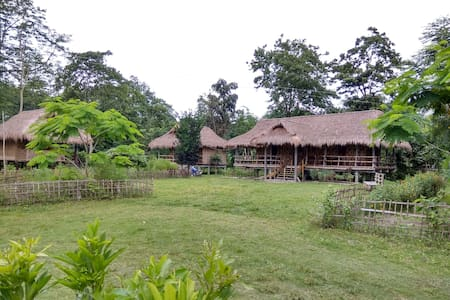 AYANG UKUM (River side bamboo cottages)