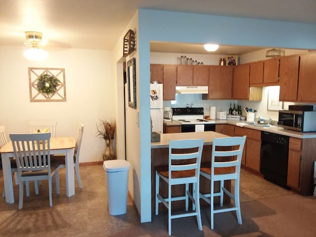 Entire Apartment Very Close To EAA Grounds!