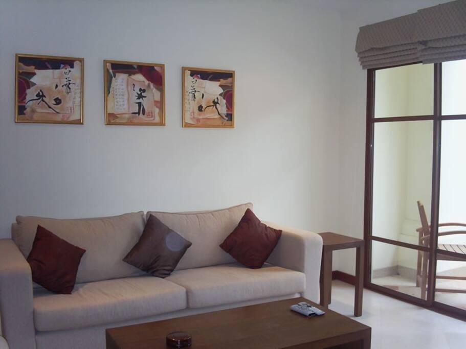 Lounge Opposite TV / DVD / Stereo etc