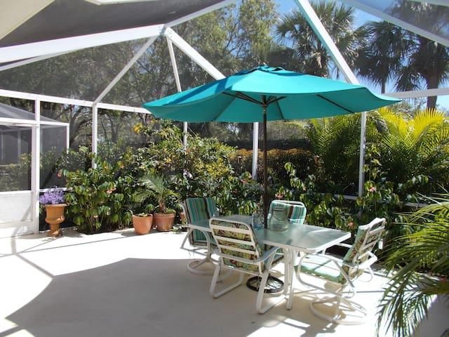 Comfortable charming townhome - Palm Beach Gardens - Casa