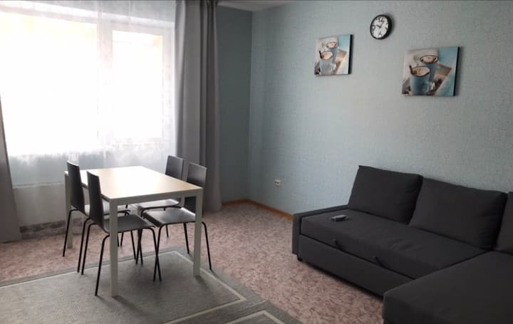 Уютная двухкомнатная квартира студия. 2 этаж