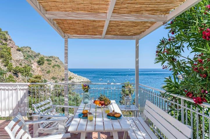 Paradisea Taormina with Garden front Sea