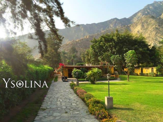 Casa de campo en Cieneguilla - Lima - Perú - Distrito de Cieneguilla - Nature lodge