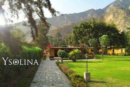 Casa de campo en Cieneguilla - Lima - Perú - Distrito de Cieneguilla - Natur-Lodge