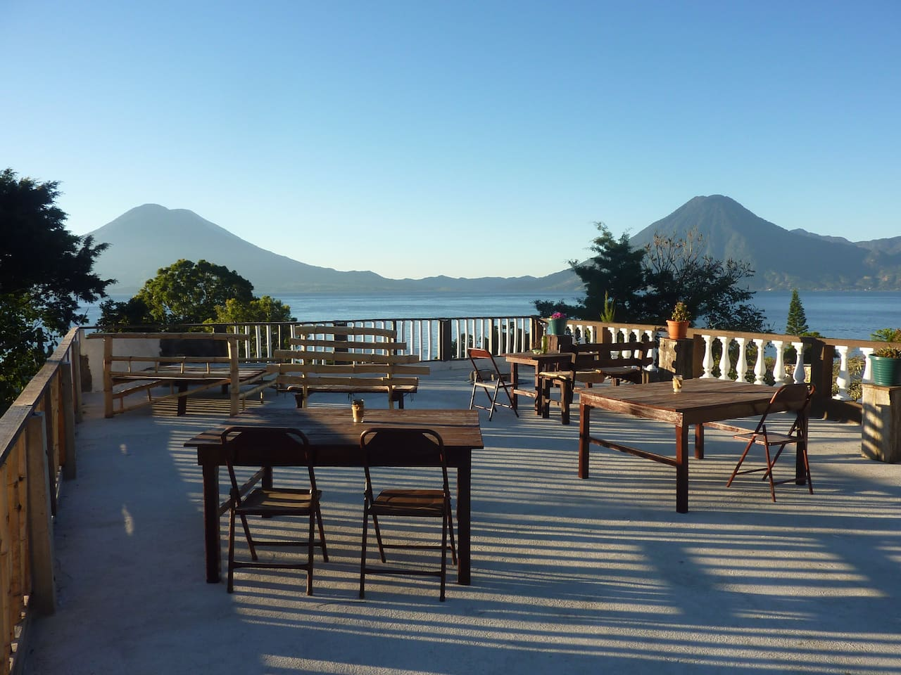 The Casa Kaktus terrace