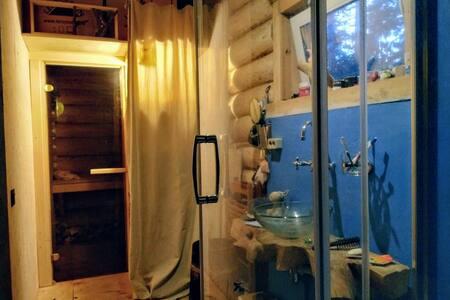 Дом с баней для двоих