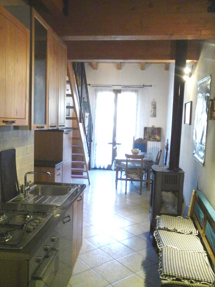 Apartment with 2 bedrooms in Riolunato, with wonderful mountain view and furnished balcony - 4 km from the slopes