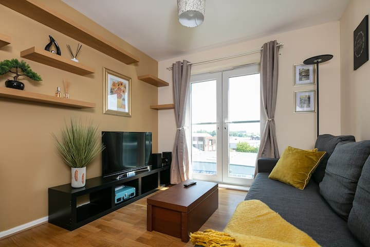★ COMFY 1BED flat | Free PARKING | Ideal Long Stay