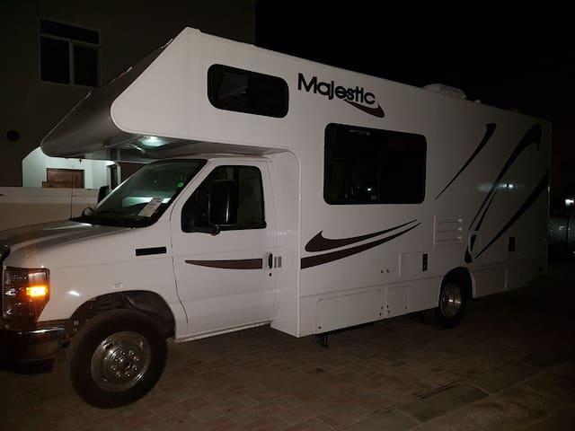 A new smaller Lexury RV/Mobile Caravan -Muscat