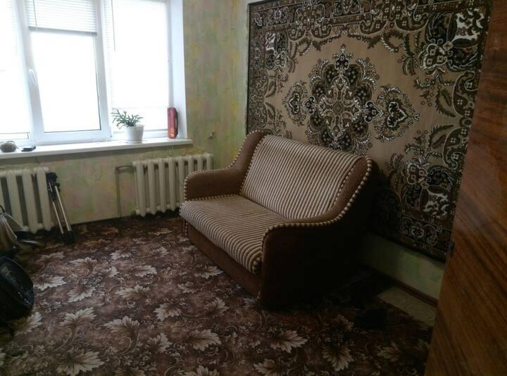 Скромная двухкомнатная квартира