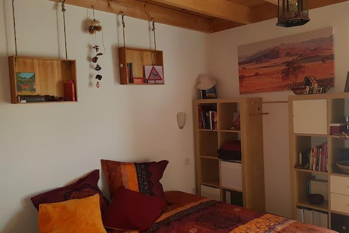 Gemütliches Wüstenzimmer in der Mühlenstadt