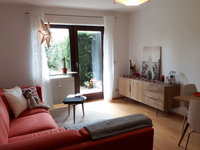 2-room apartment in lovely Hadern