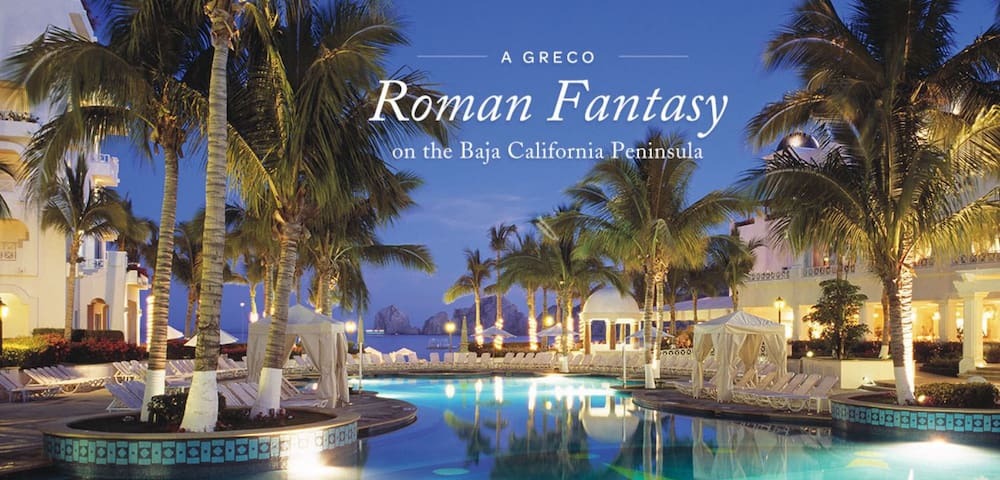A greco Roman Fantasy on Baja California