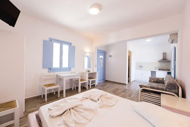 Studio With Panoramic View - Paros - Apartemen