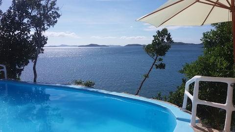 Ibisco Villa with Sea View
