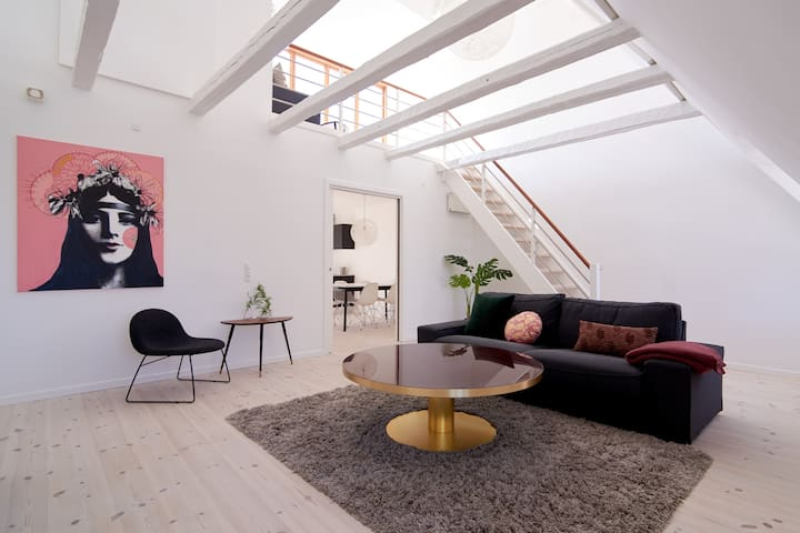 2-story apartment with private roof top terrace