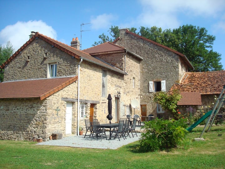 Beautiful large farmhouse in rural France