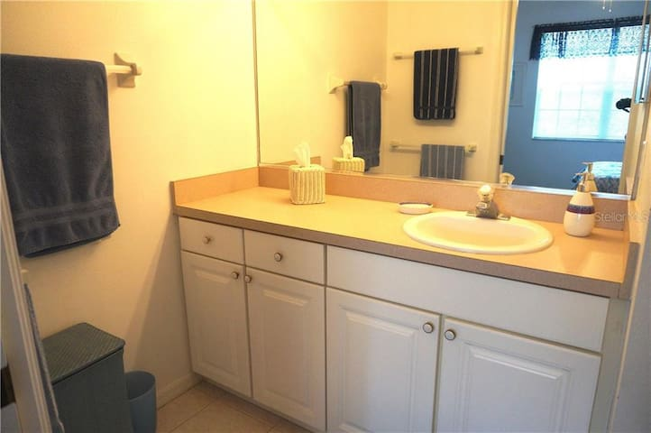 Master Bath with separate area for vanity