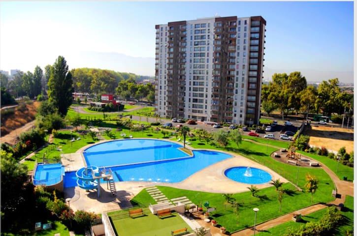 Apartamento hermoso,linda vista - Pudahuel - Appartement