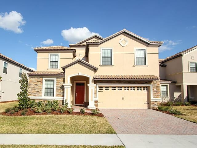 Champions Gate - Pool Home 8BD/5BA - Sleeps 18 - Platinum - RCG858 - Four Corners - Vila
