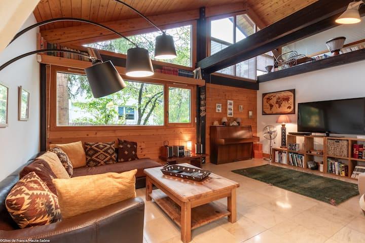 maison bois pleine de charme