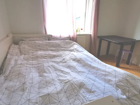 A Private Large Room & double bed in a Large house