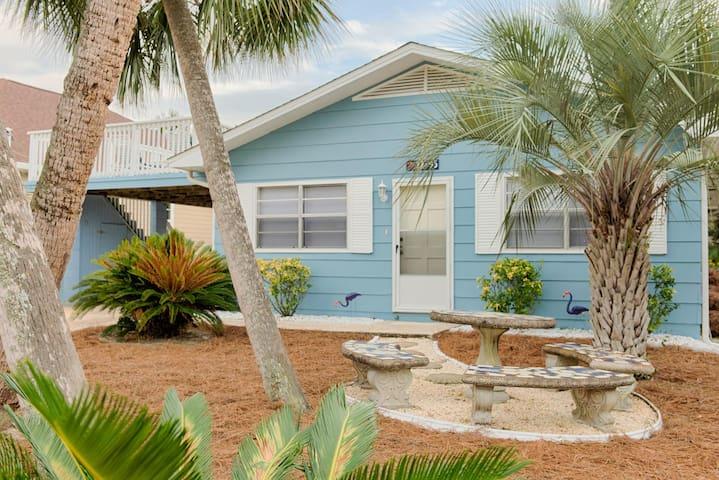 Blue Iguana -  Pet Friendly Florida Beach Cottage
