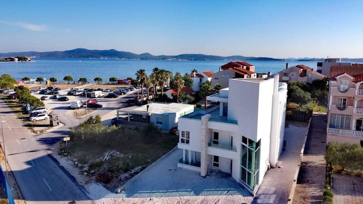 New luxury Villa Jasna,  In the front of beach