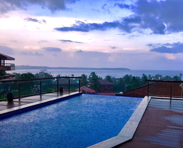 Sea View Villa with infinity pool