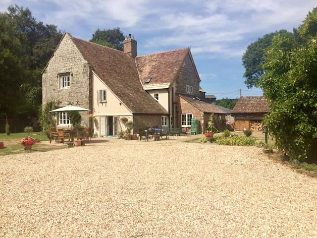 Country  location with beautiful enclosed gardens