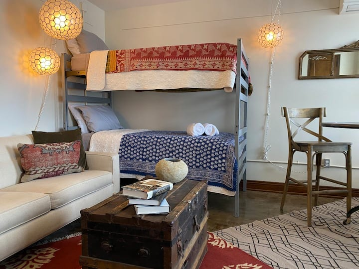 Bohemian Mansion Bunks in Westside Oasis