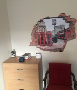Spacious and cosy double room in Plumstead - Londen - Huis
