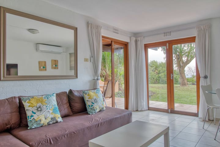 Two bedroom San Lameer Villa with Lawn