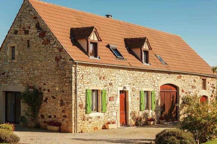 Casa vacanze d'epoca a Lavercantière con terrazza