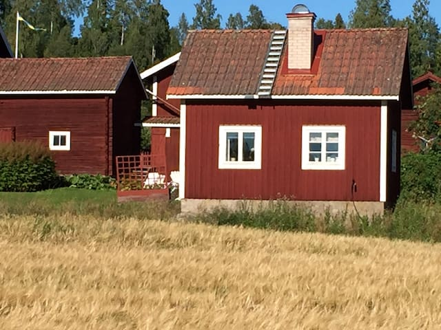Cottage in the very beautiful village Ullvi - Leksand - Rumah Tamu