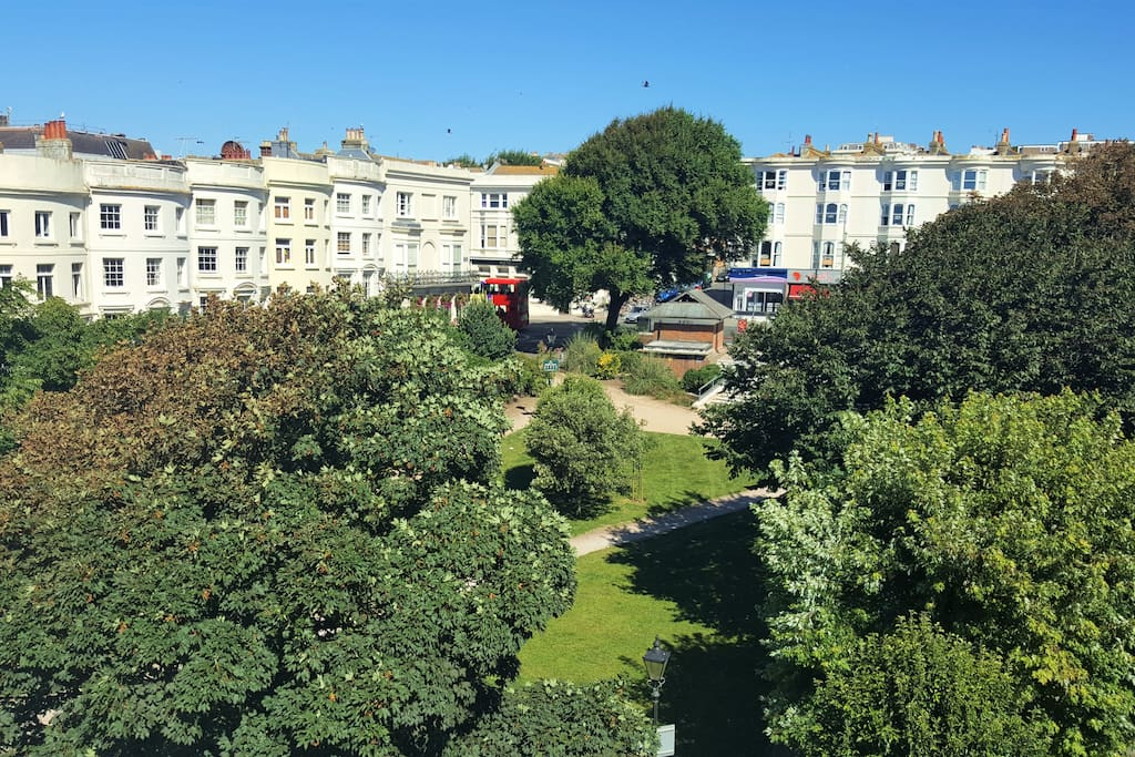 The Square from the Roof Garden