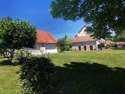 Jolies chambres d'Hôtes à Luzy au sud du Morvan
