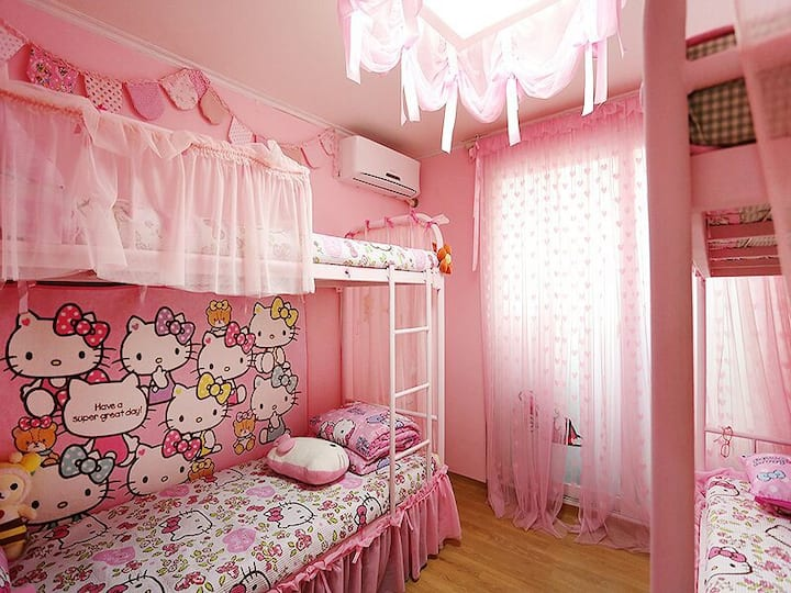 Hellokitty 4 bed