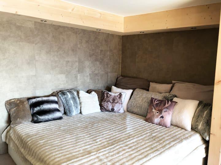 Duplex Prestige à Valberg ambiance chalet