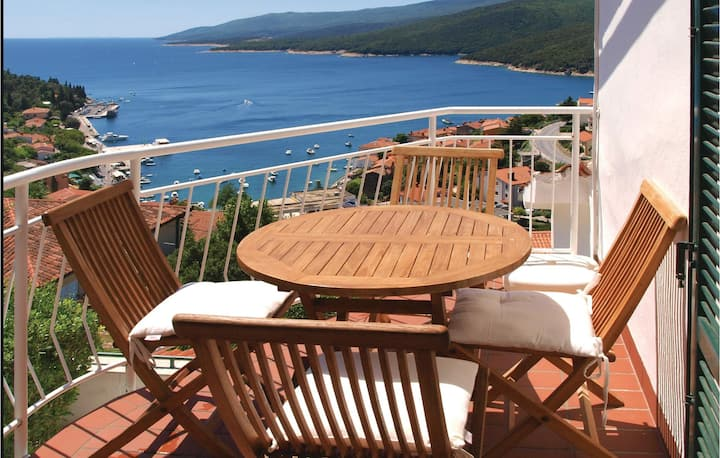 Stunning home in Rabac with WiFi and 2 Bedrooms