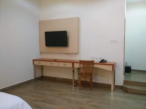 Quarto Estúdio com 1 Cama e WC
