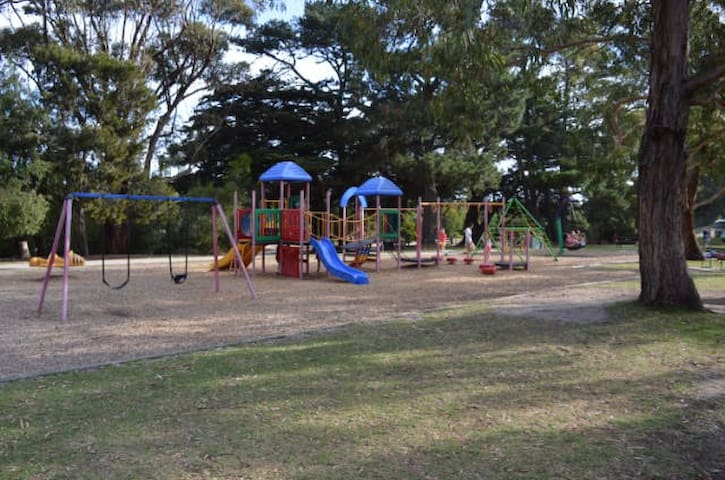 Playground 2kms from resort