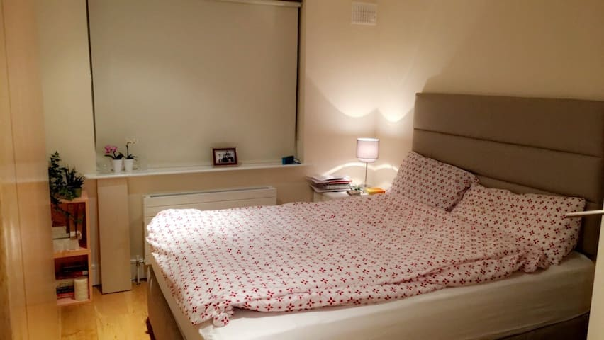 Private bedroom in large house near city centre - Ballsbridge - Rumah